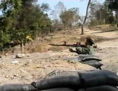 ทหารไทยปะทะทหารเขมร